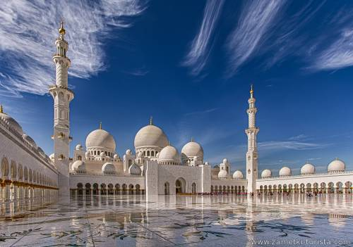 Эмираты и города. ОАЭ.