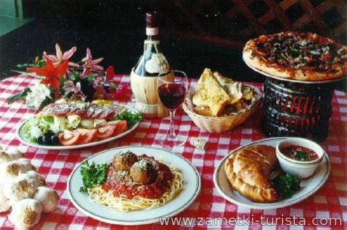 Итальянская кухня и ее особенности.
