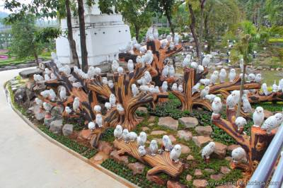 Великолепный парковый комплекс Нонг-Нуч в Паттайе, Тайланд