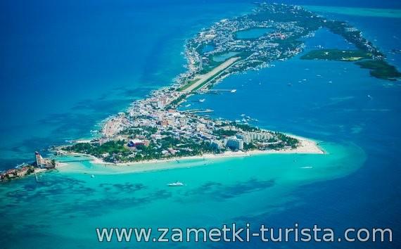 Канкун. Остров туристических развлечений .