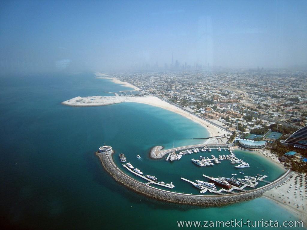 Пляжи Дубая. ОАЭ.
