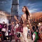 Торговые центры Дубая. ОАЭ.