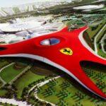 Парк Ferrari World – главная изюминка острова Yas.