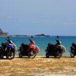 Мотопробегом по Бали.
