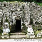 «Пещера слона». Храм коренного народа острова Малайского архипелага (Гоа Гаджа) Бали.