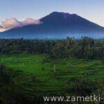 Вулкан Агунг (Бали) извержения и его последствии