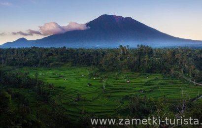 Вулкан Агунг. Бали.