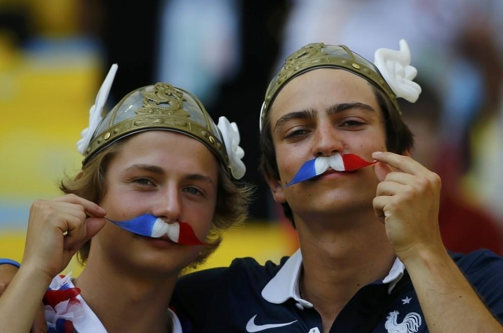 Французкие болельщики