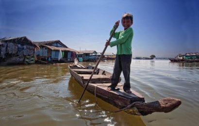 плавучая деревня Чонг Книех