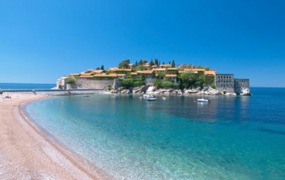 Черногоря, остров Святого Стефана, Адриатическое море, элитный отдых