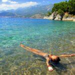 Пляжный отдых в Хорватии.