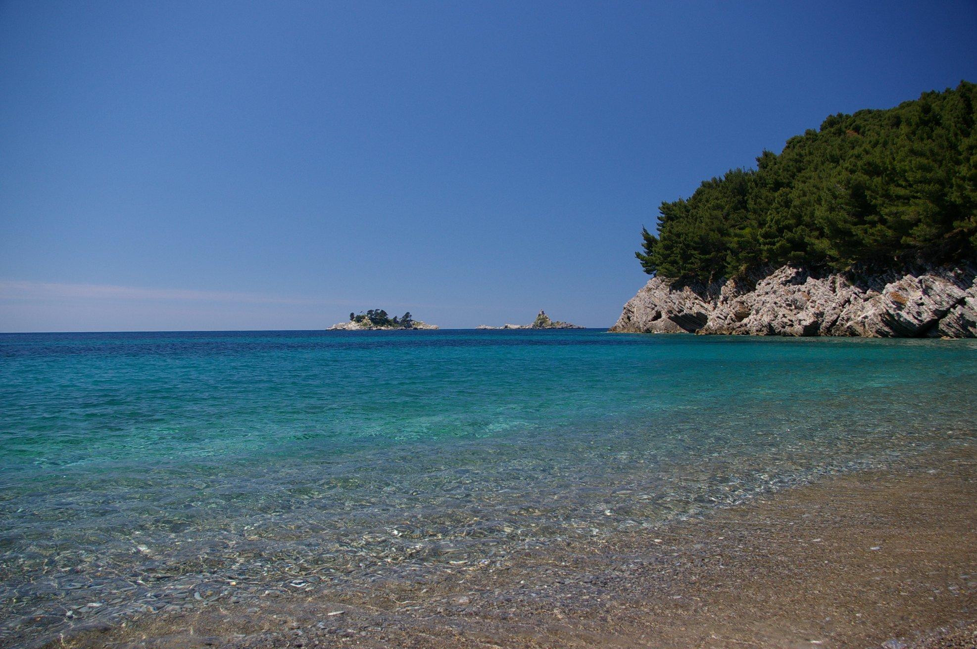 Черногория, Петровац, Адриатическое море, курорт, пляж
