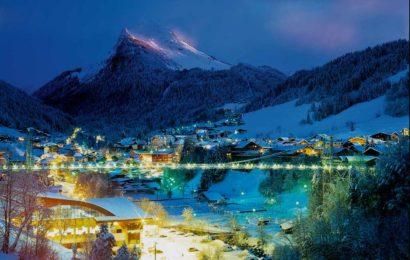 Морзин, горнолыжный курорт, Франция
