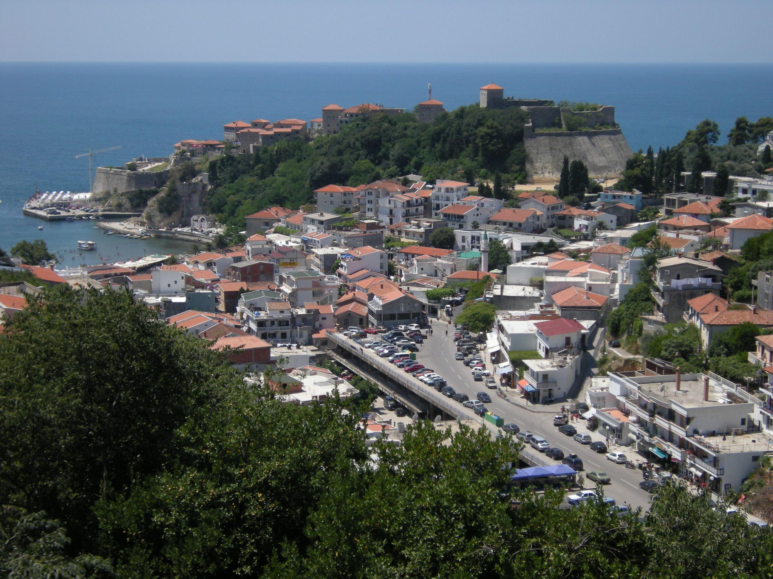 Черногория, город Ульцинь, Адриатическое море