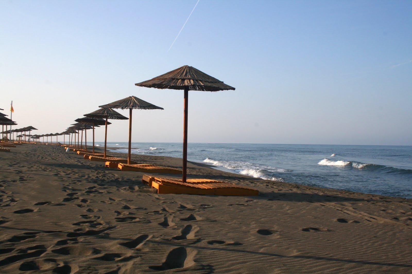 Черногория, город Ульцинь, отдых, Адриатическое море, пляж