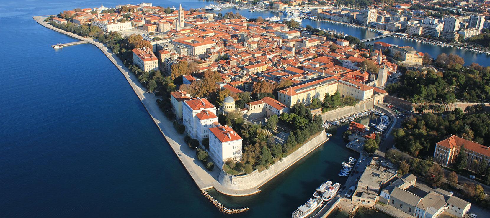 Хорватия, город Задар, Адриатическое море
