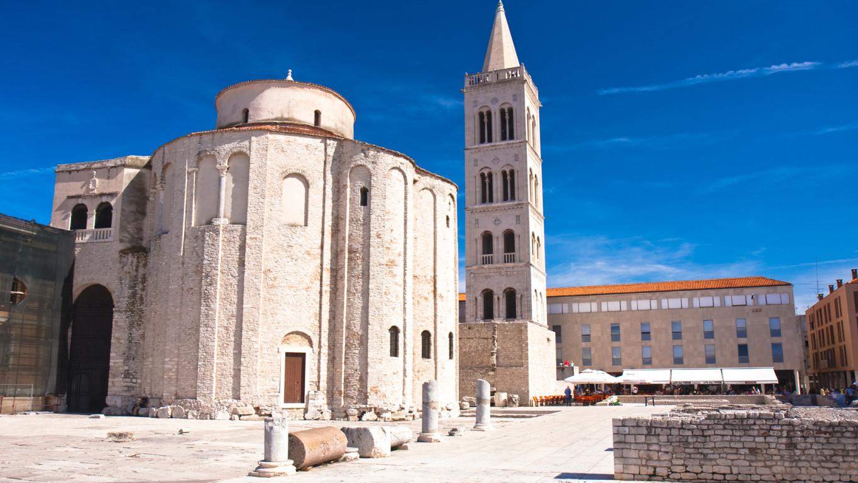 Хорватия, город Задар, архитектура, храм
