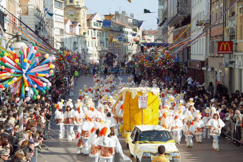 Хорватия, праздники, отдых, карнавал
