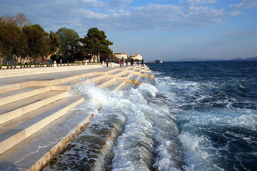 Хорватия, город Задар, морской орган