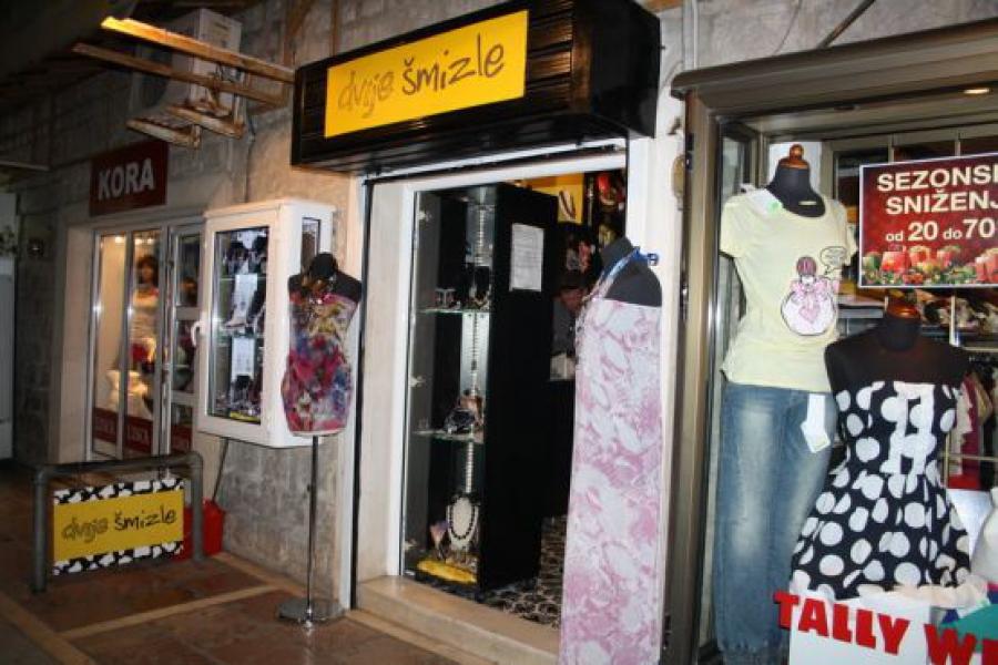 Черногория, покупки, магазины одежды