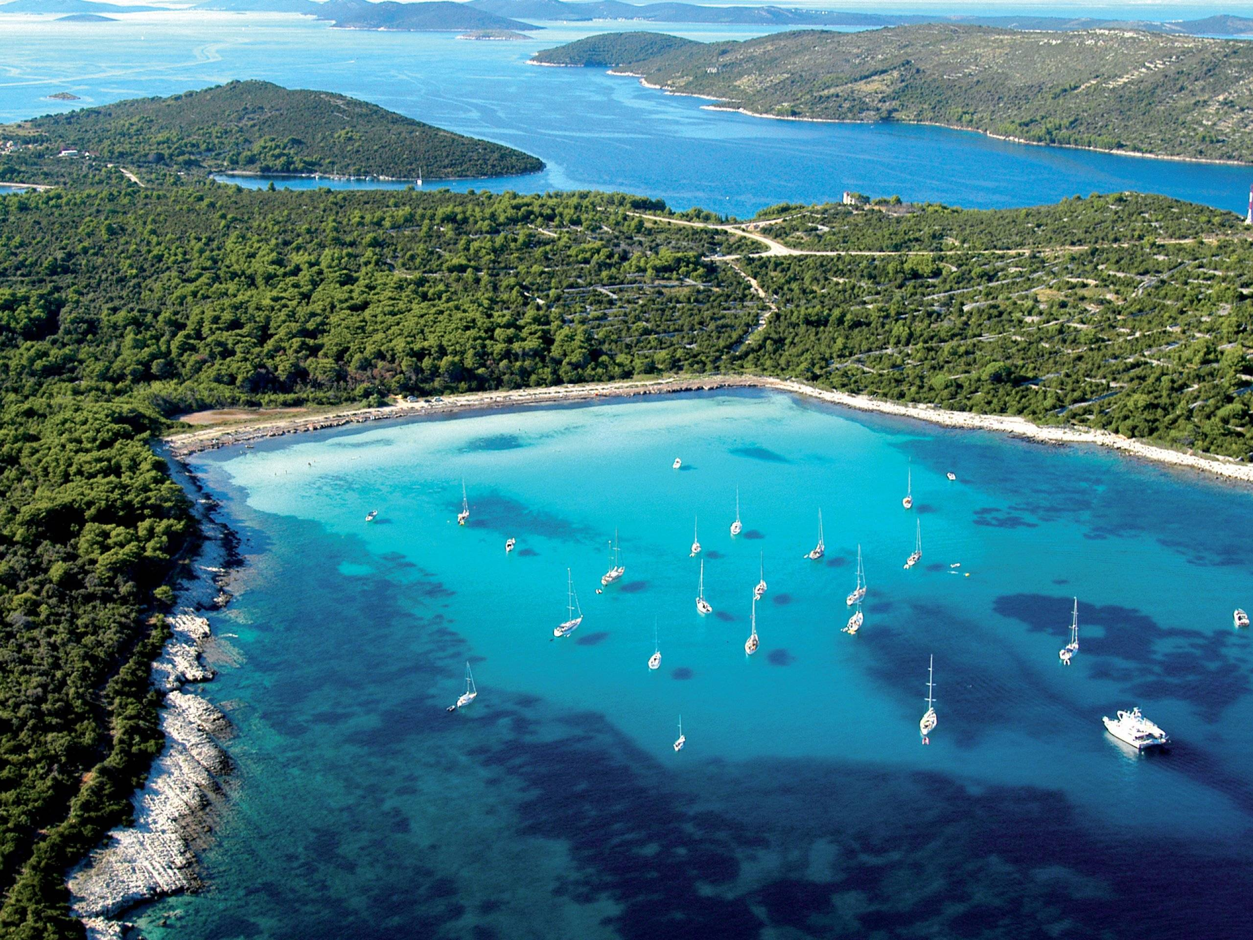 Хорватия, острова, море