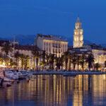 Хорватия. Город — курорт Сплит.