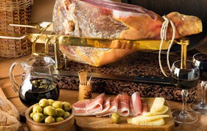 Хорватия, национальная еда, пршут
