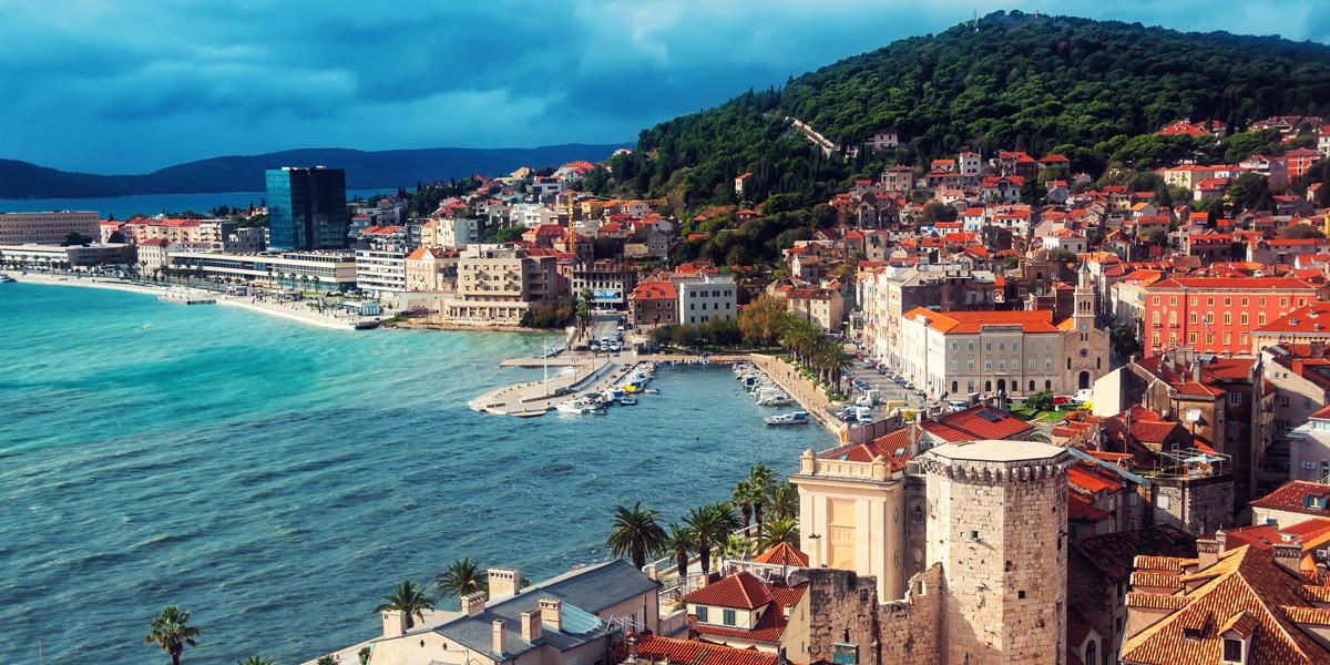 Хорватия, город - курорт Сплит, Адриатическое море