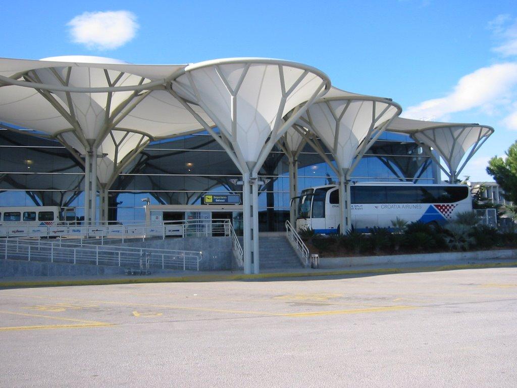 Хорватия, город - курорт Сплит, аэропорт