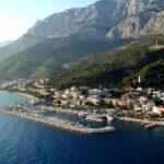 Тучепи, один популярнейших городов — курортов Хорватии.