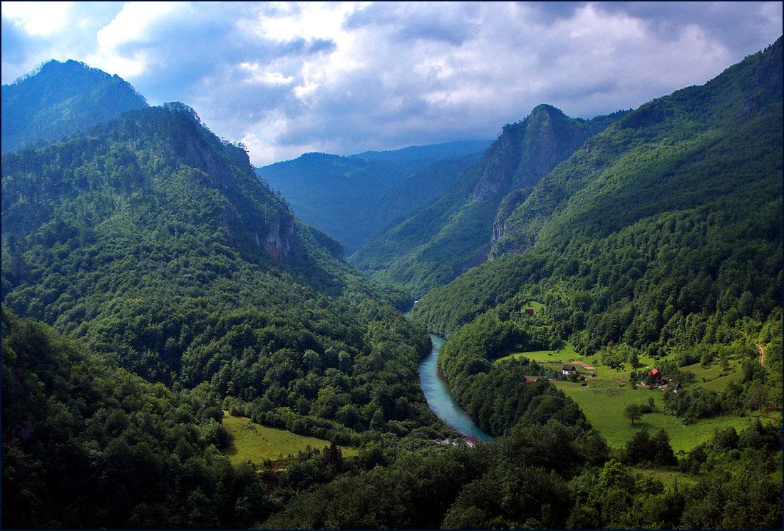 Черногория, Адриатическое море, отдых, экскурссии, каньон