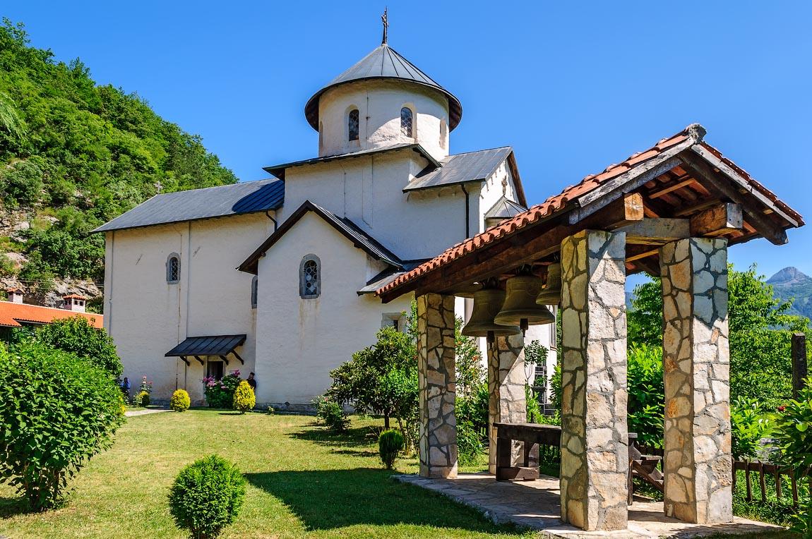 Черногория, Адриатическое море, отдых, экскурссии, монастырь Морача