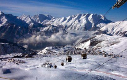 Альп-д'Юэз, горнолыжный курорт, Франция