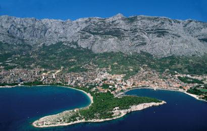Хорватия, город Макарска, курорт, Адриатическое море