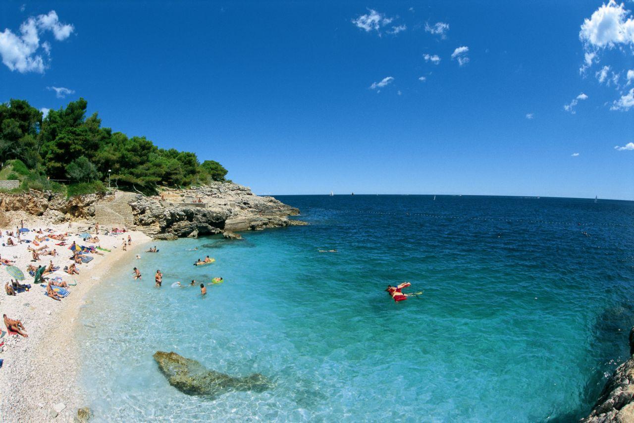 Хорватия, Медулин, море, острова, пляж