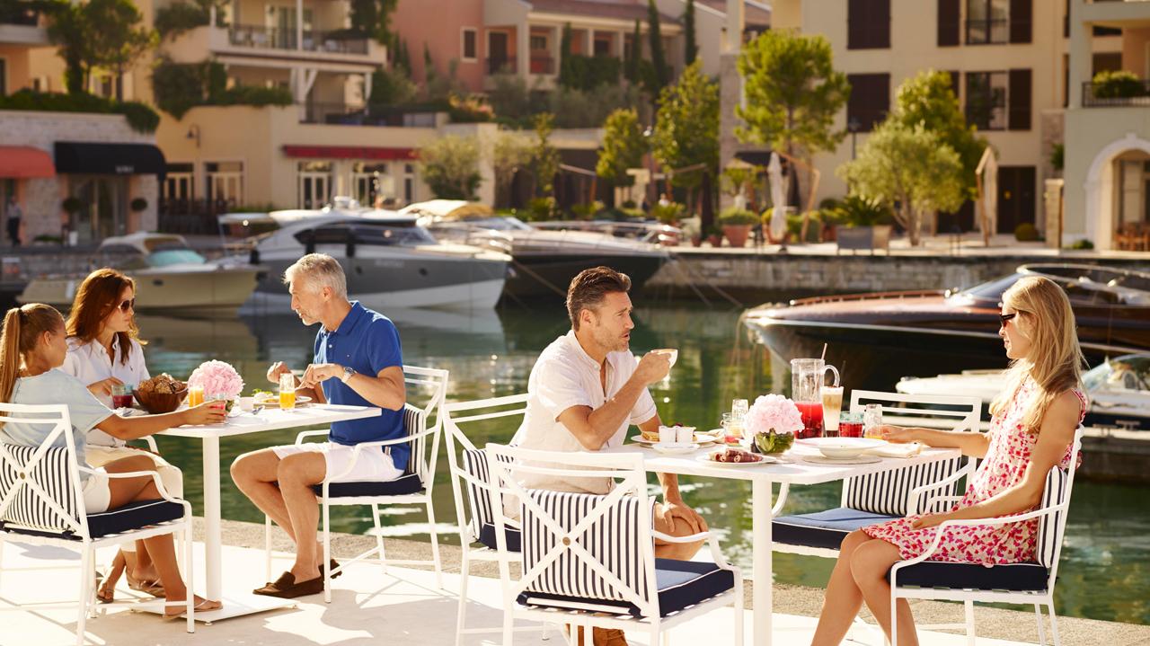Черногория, сервис, обслуживание, питание, кафе, ресторан, отель