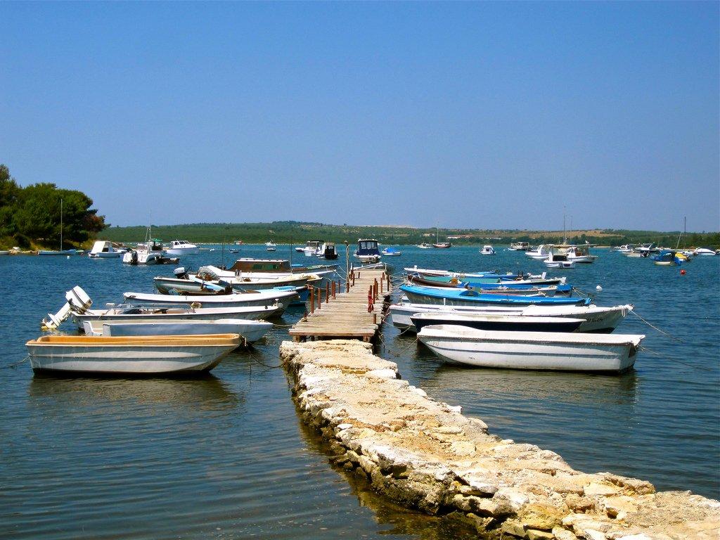 Хорватия, Медулин, море, острова
