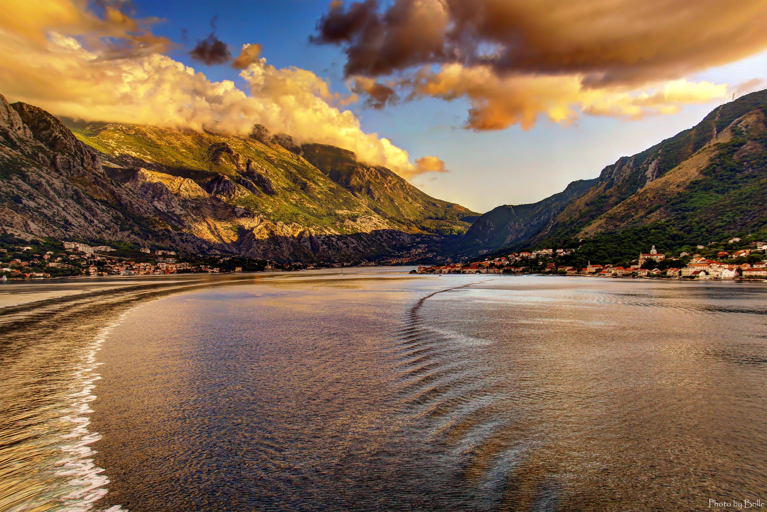 Черногория, Адриатическое море, сосны, горы, отдых