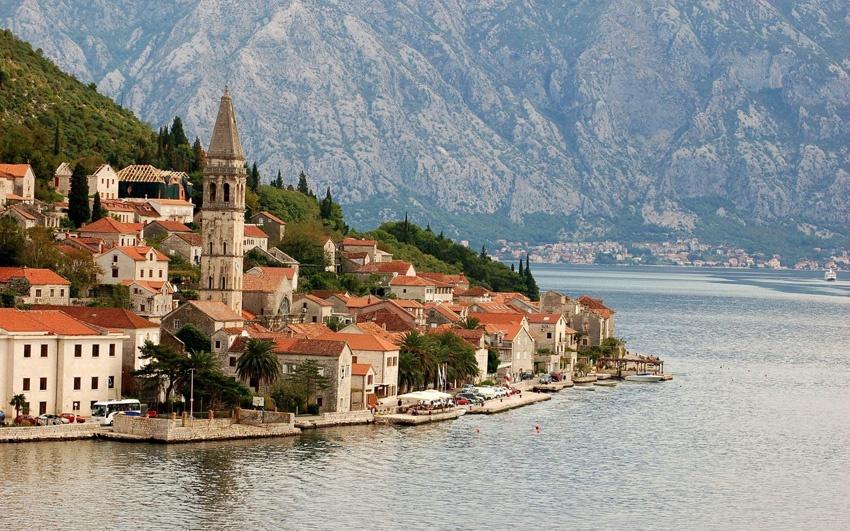 Черногоря, Адриатическое море, горы
