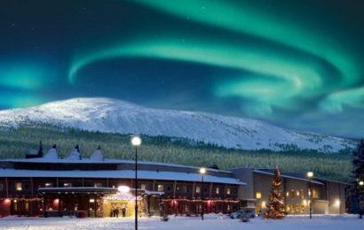 Финляндия, Луосто, горнолыжный курорт