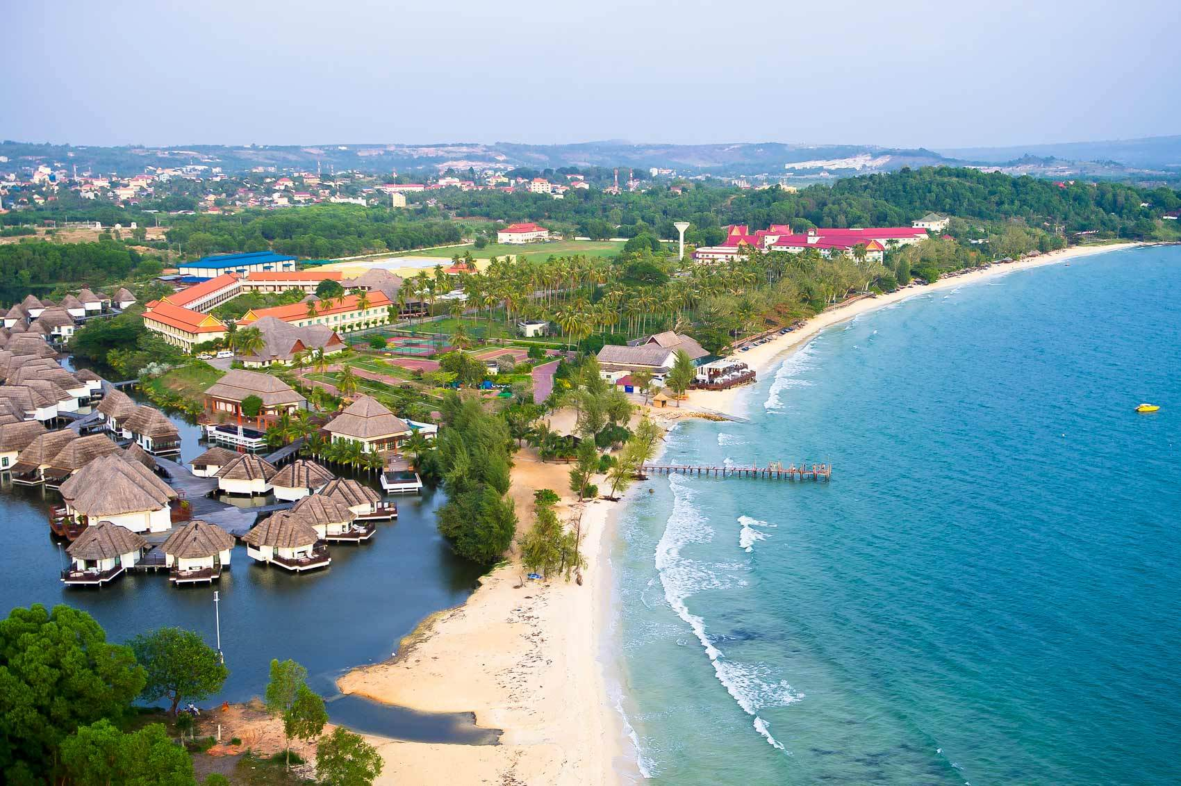 Камбоджа, море, пляж