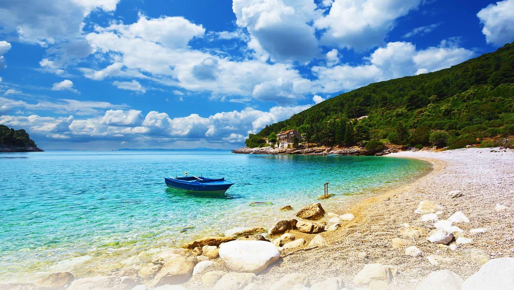 Хорватия, Адриатическое море, отдых, отпуск, пляж