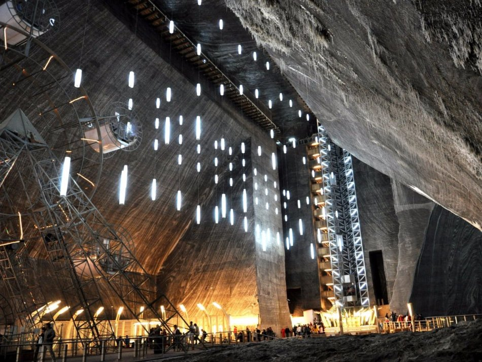 Хорватия, Лабино, шахта, аттракционы