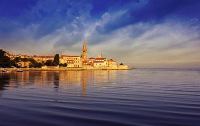 Хорватия, город Пореч, Адриатическое море