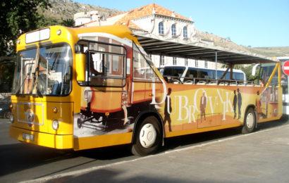 Хорватия, общественный транспорт, автобус
