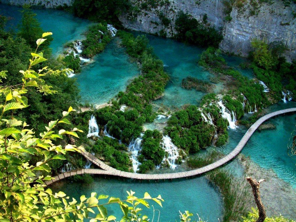 Хорватия, Плитвицкие озера, экскурсия