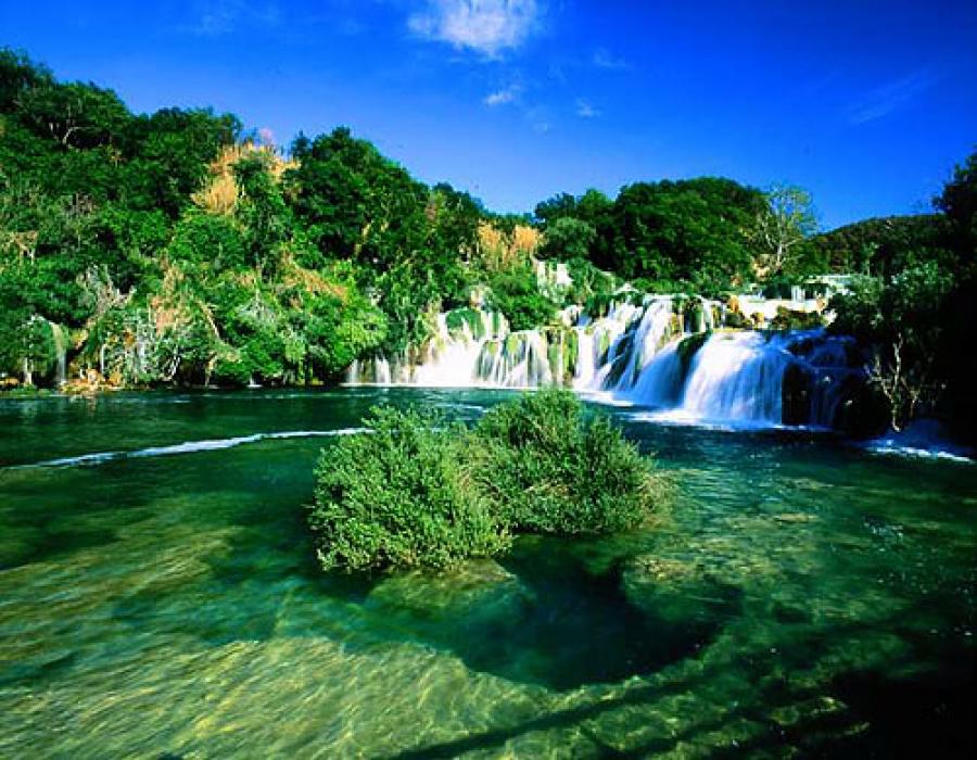 Хорватия, заповедник Крка, водопады, экскурсия