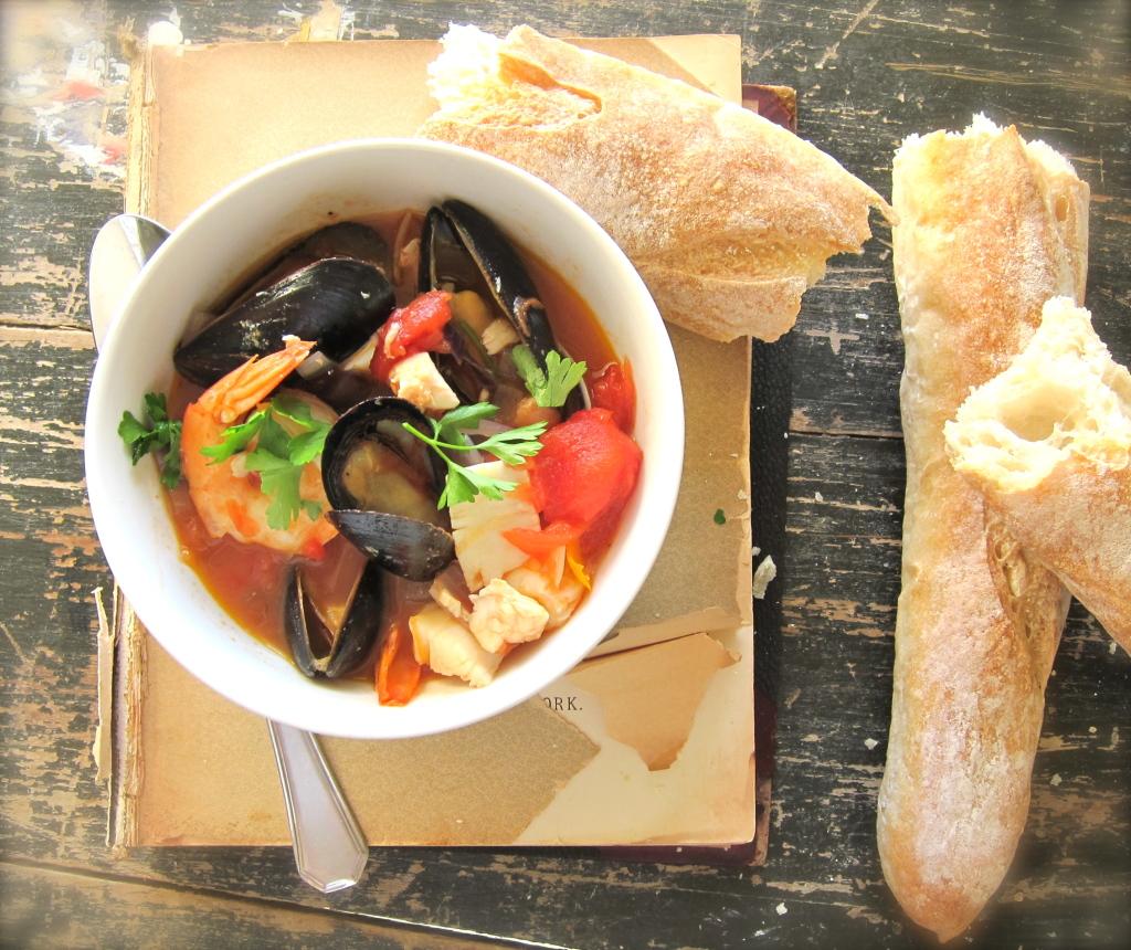 Франция, французская кухня, буйабес, суп
