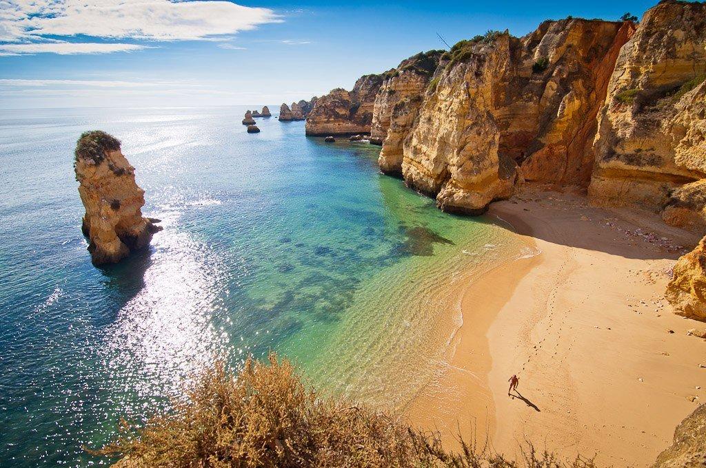 Португалия, Атлантический океан, пляж