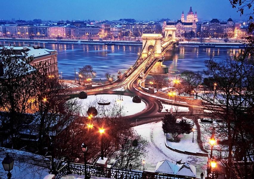 Будапешт, Венгрия, отдых зимой в Европе